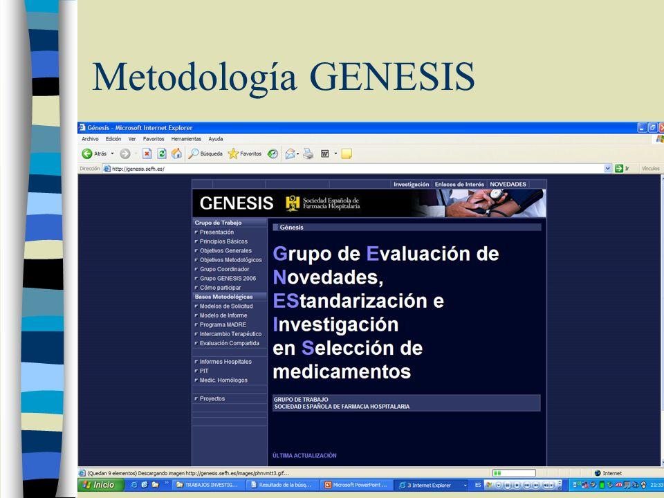 V. Impacto presupuestario Para el hospital GENESIS