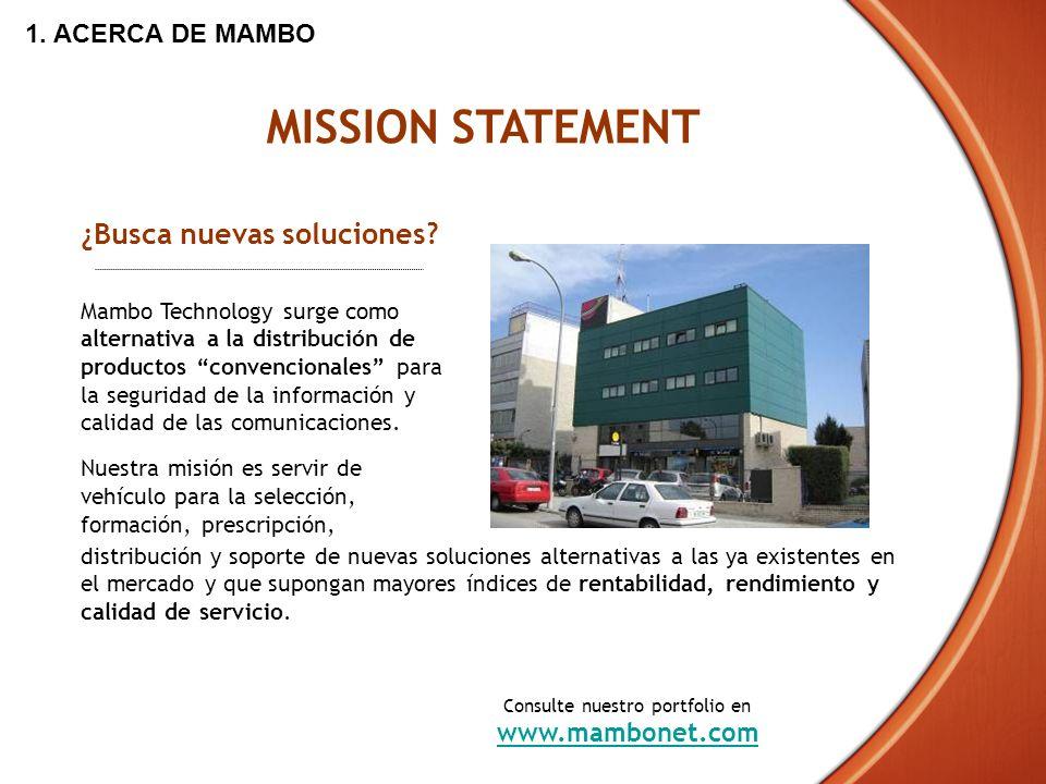 Mambo Technology surge como alternativa a la distribución de productos convencionales para la seguridad de la información y calidad de las comunicacio