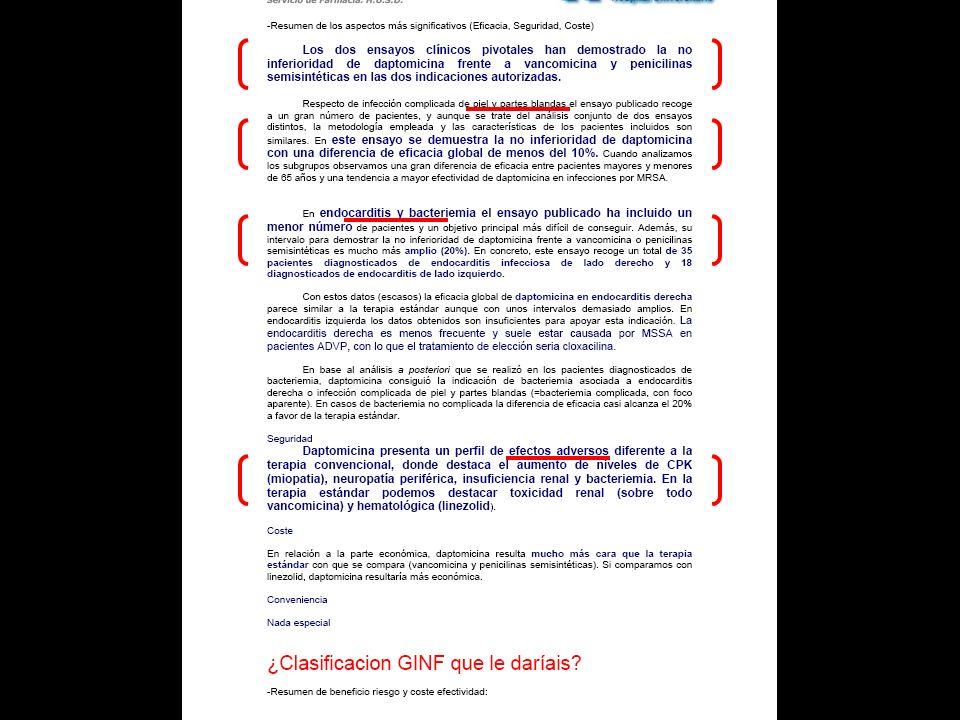 Adjudicación Categorías Guía GINF Versión 3.0 (2007) 8.