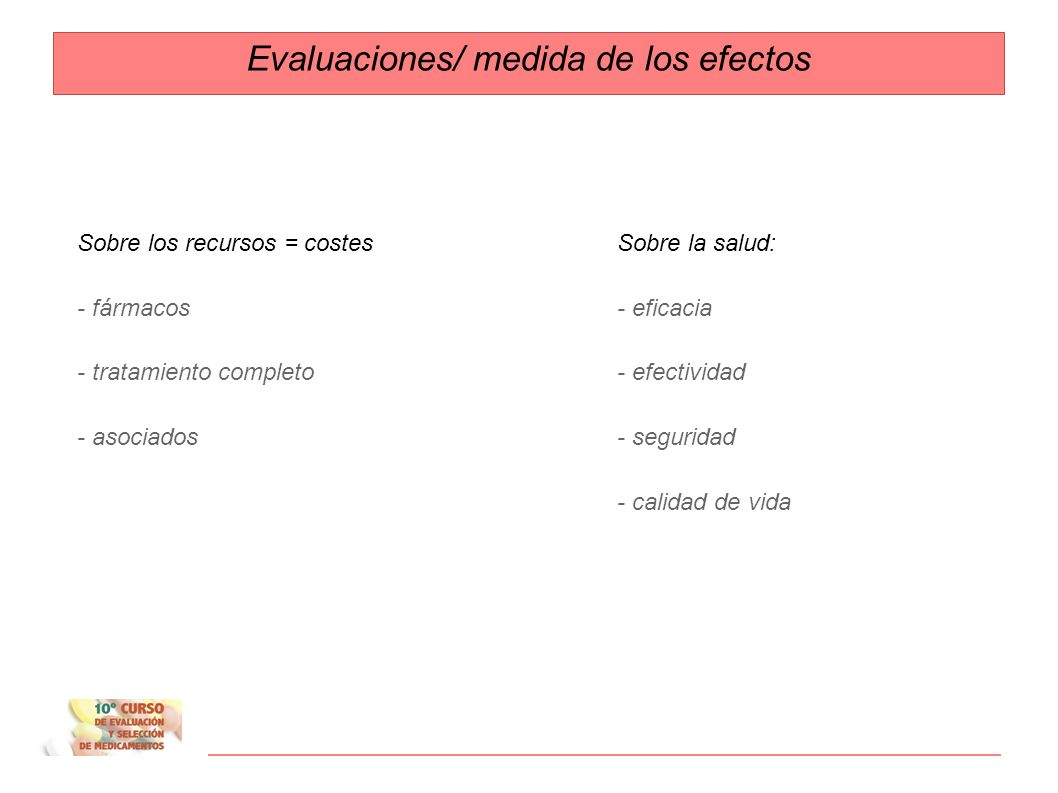 Evaluaciones económicas Adaptado de A Ortega 2006. 6º Curso Palma ¿Se examinan costes y resultados sobre la salud? ¿ Se comparan dos o más alternativa