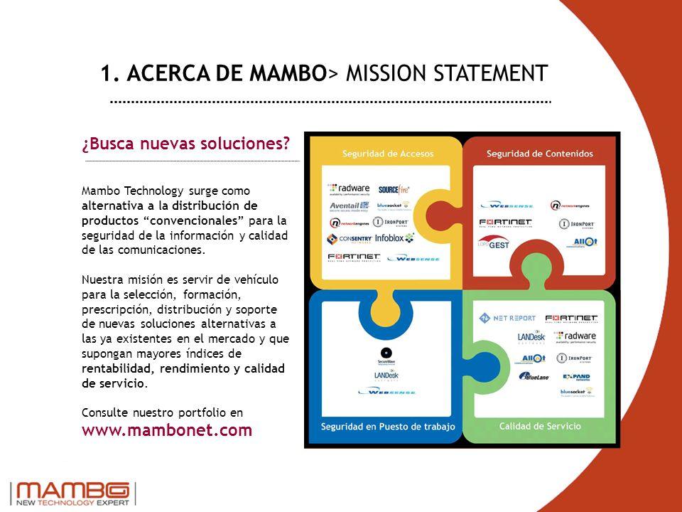 ¿Busca nuevas soluciones? Mambo Technology surge como alternativa a la distribución de productos convencionales para la seguridad de la información y