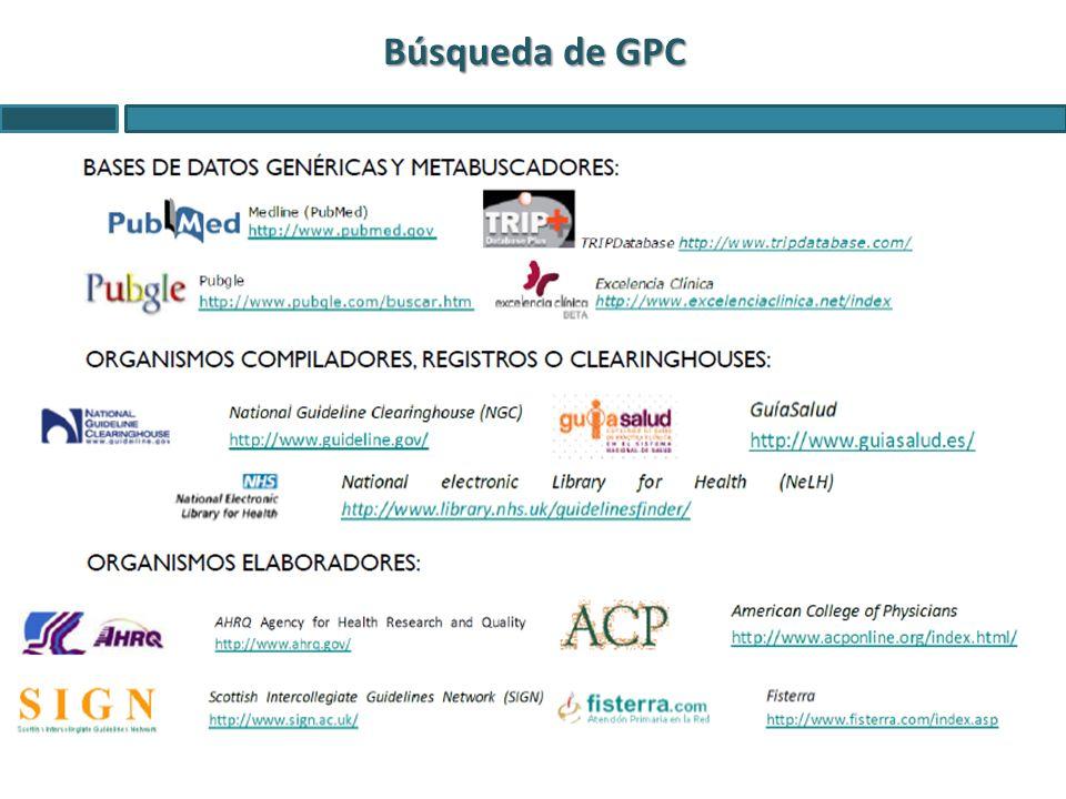 Búsqueda de GPC