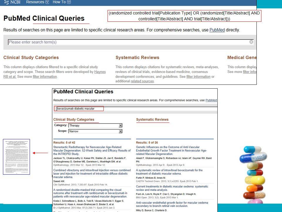 El método de búsqueda en PubMed (términos MeSH): es útil para completar el programa MADRE