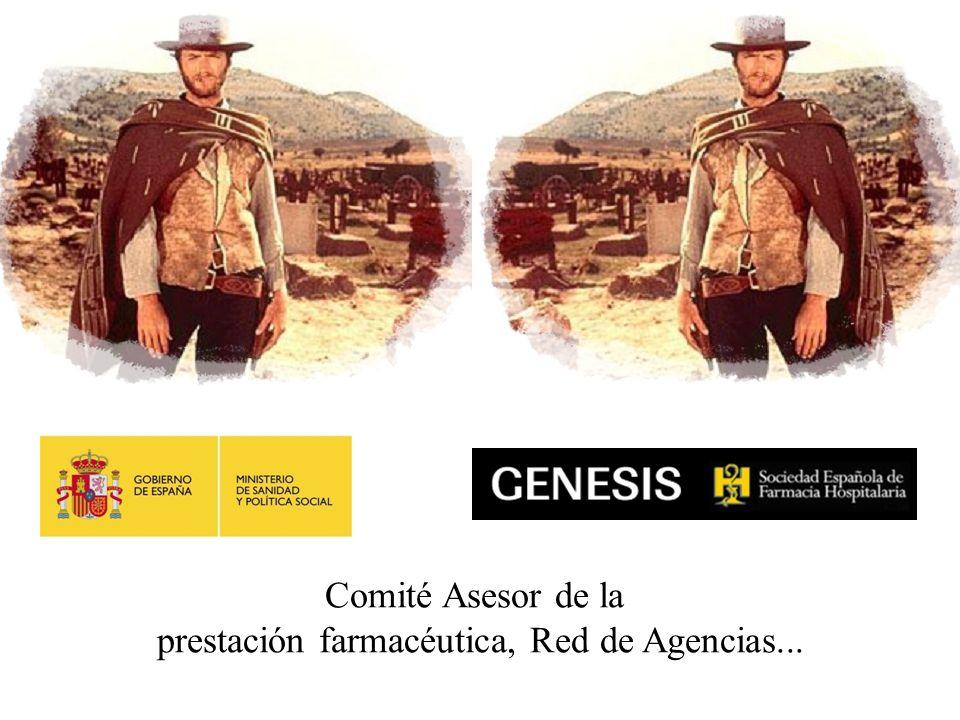 Cuentas pendientes Comité Asesor de la prestación farmacéutica, Red de Agencias...