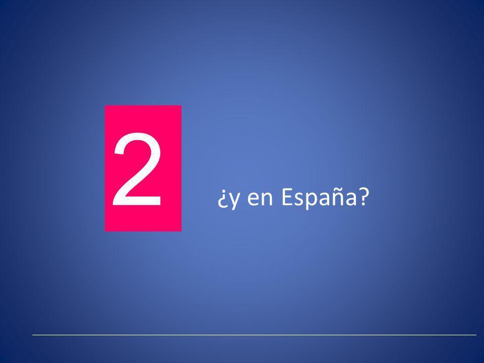 ¿y en España? 2