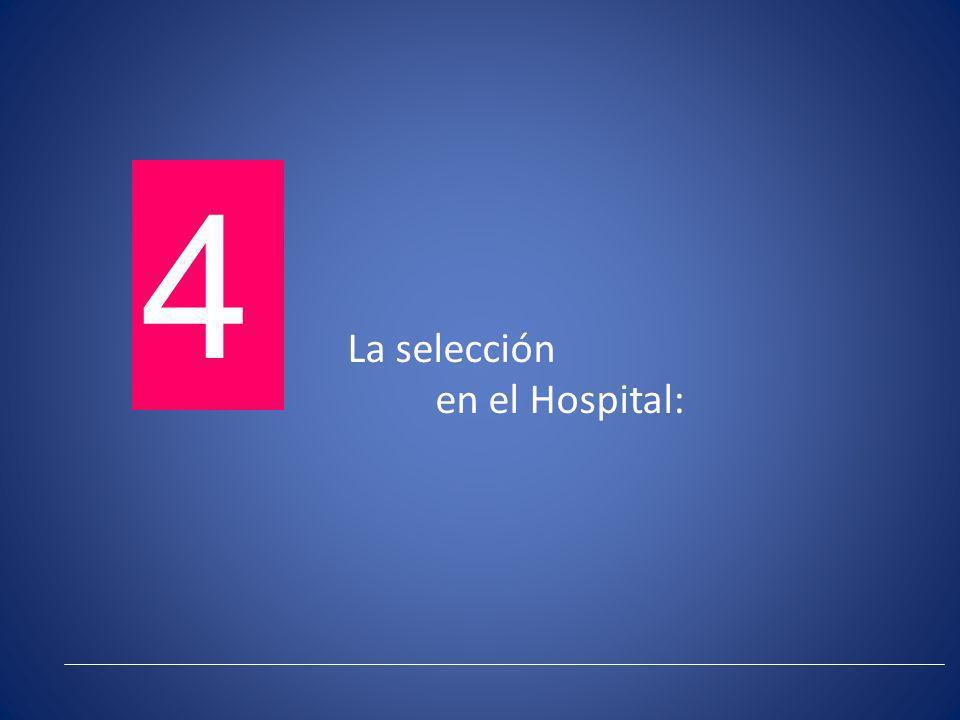 La selección en el Hospital: 4