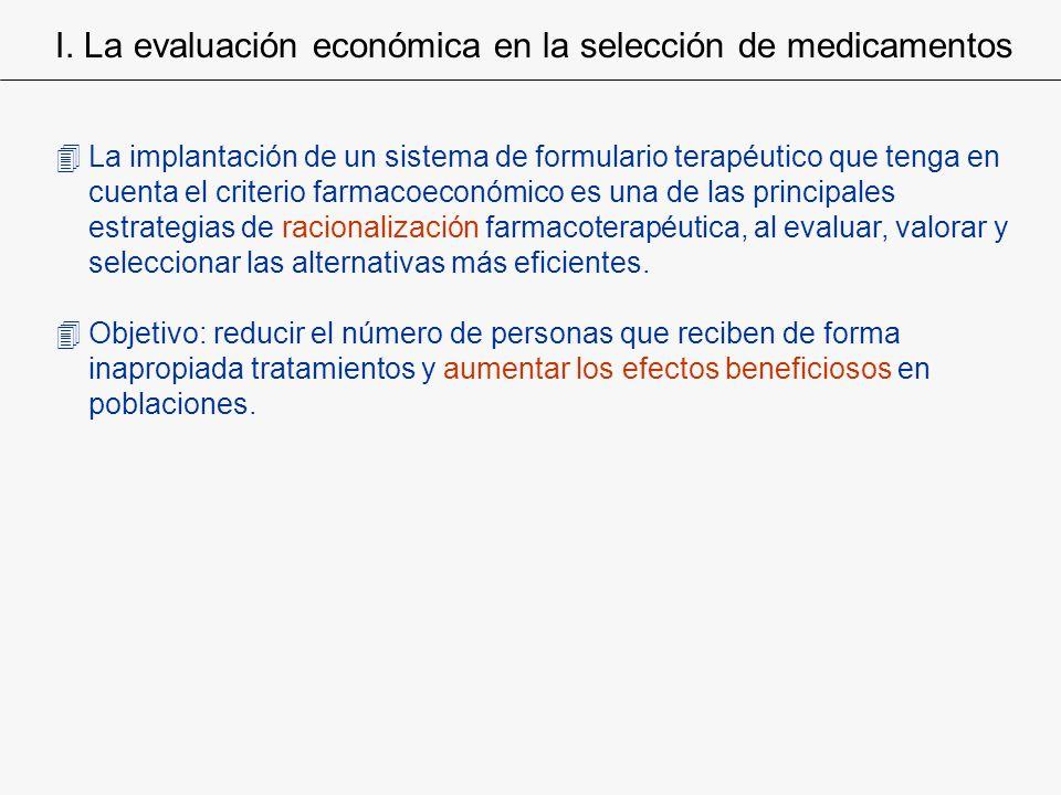 4La implantación de un sistema de formulario terapéutico que tenga en cuenta el criterio farmacoeconómico es una de las principales estrategias de rac