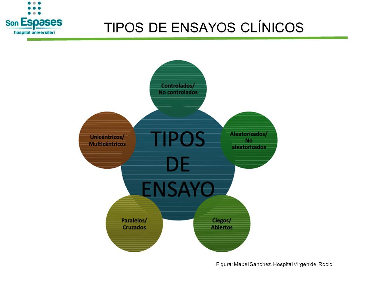 TIPOS DE ENSAYOS CLÍNICOS Figura: Mabel Sanchez. Hospital Virgen del Rocio