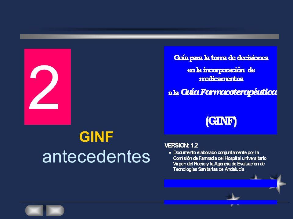 GINF antecedentes 2