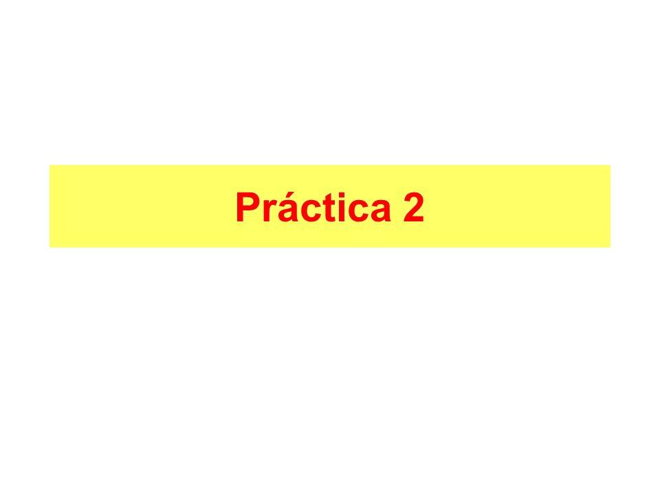 Práctica 2