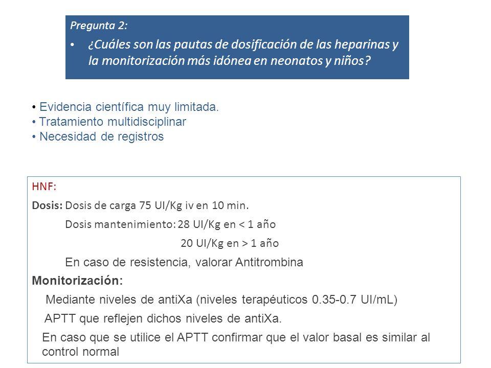 TV Renal Neonatal TV Renal neonatal bilateral, o afectación a VCI o causa Insuf.