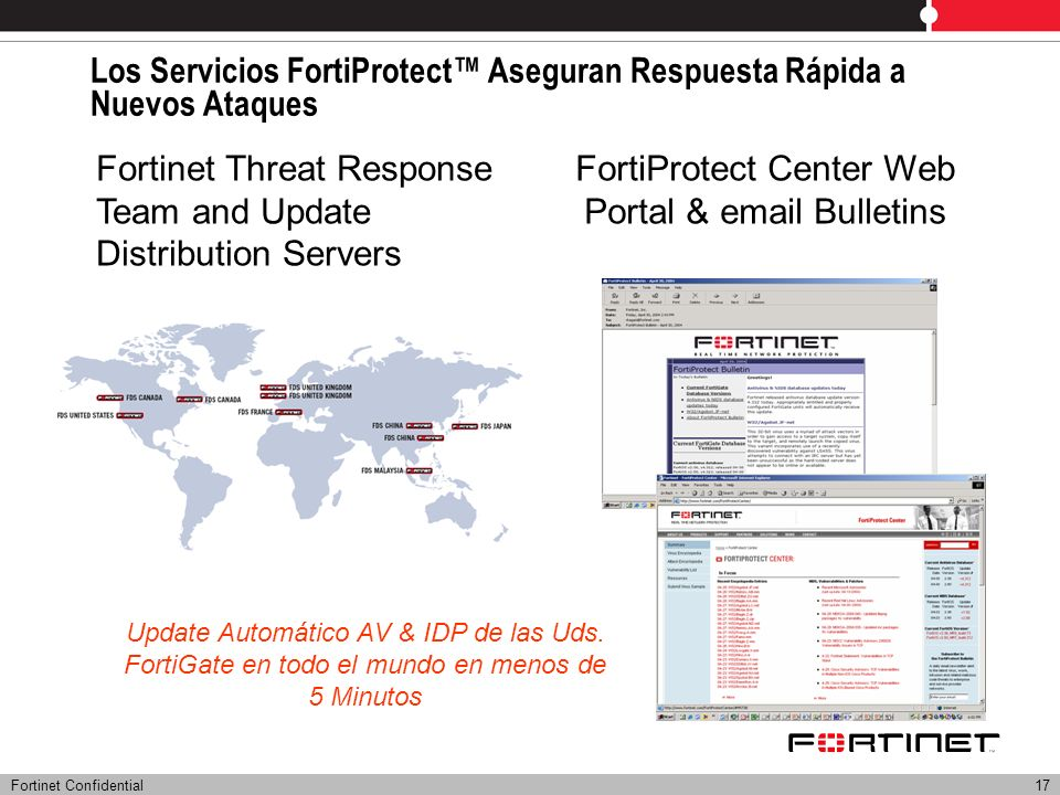 Fortinet Confidential Our IBERIA References I IndustryBanking & Finance Print/ Media / Retail Telecom Central Gobernment