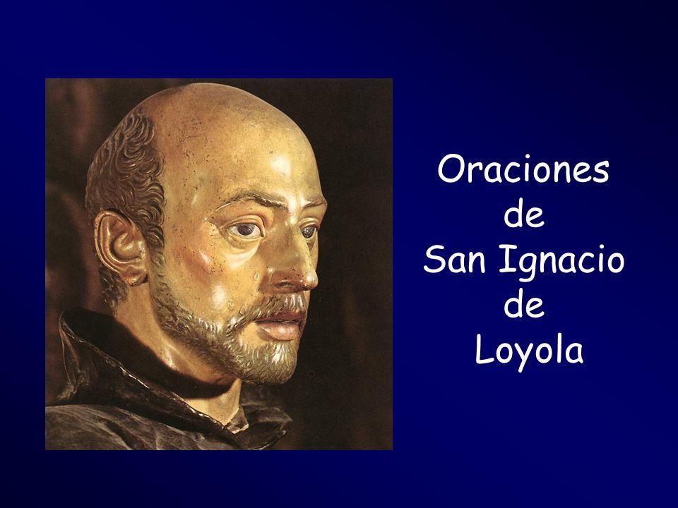 Oraciones de San Ignacio de Loyola