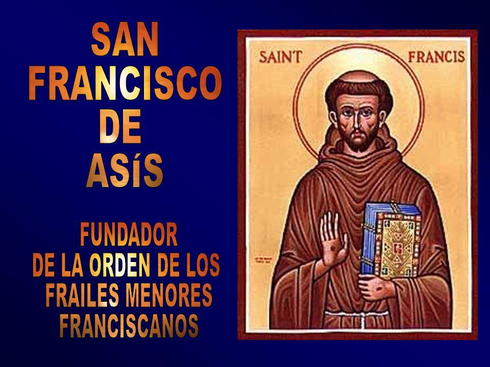 Fundador de la Orden de los Frailes Menores, conocidos como los franciscanos San Francisco fue un santo que vivió tiempos difíciles de la Iglesia y la ayudó mucho.