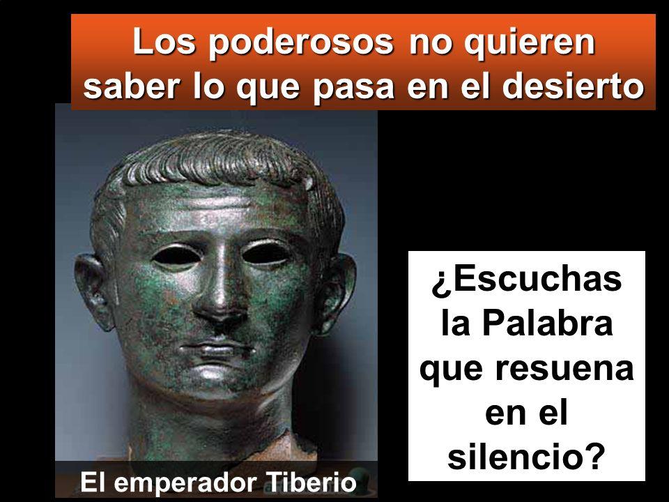Lc 3, 1-6 En el año quince del reinado del emperador Tiberio, siendo Poncio Pilato gobernador de Judea, y Herodes virrey de Galilea, y su hermano Feli