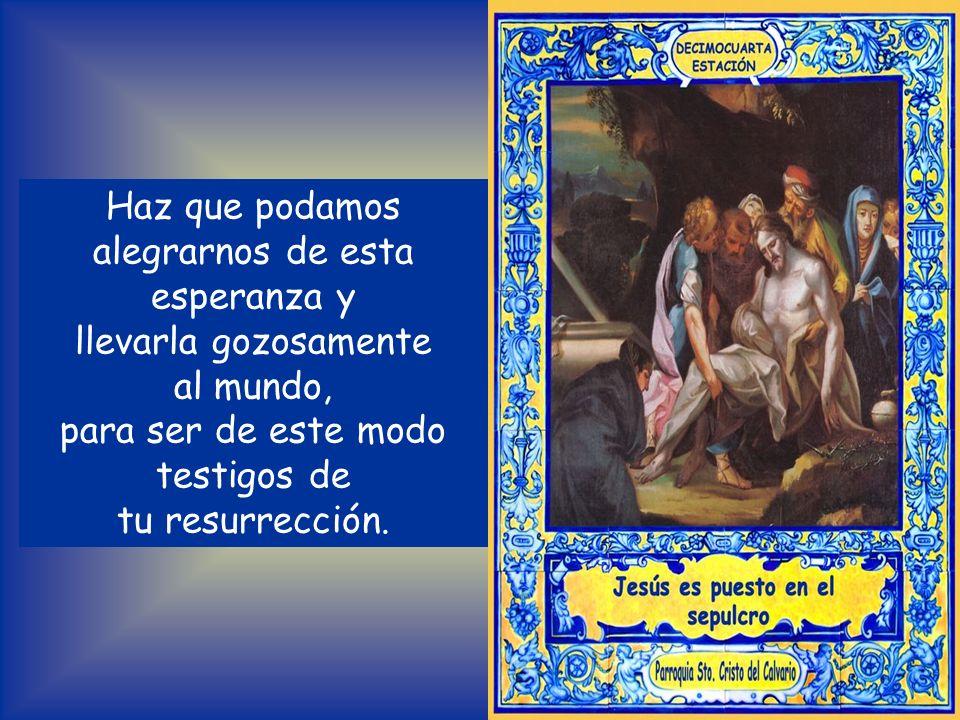 Ayúdanos a amar cada vez más tu misterio eucarístico y a venerarlo, a vivir verdaderamente de ti, Pan del cielo. Auxílianos para que seamos tu perfume