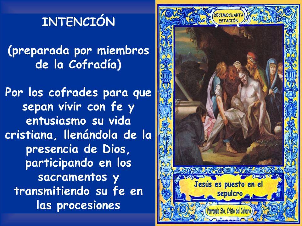 Haz que podamos alegrarnos de esta esperanza y llevarla gozosamente al mundo, para ser de este modo testigos de tu resurrección.