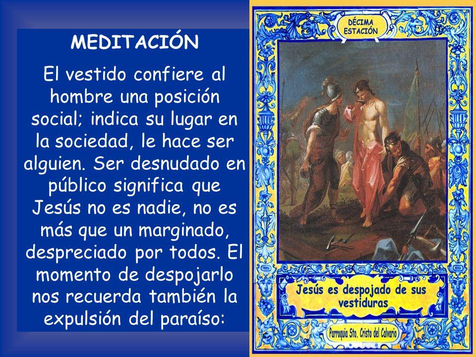 Lectura del Evangelio según San Mateo 27, 33 -36 Cuando llegaron al lugar llamado Gólgota (que quiere decir «La Calavera»), le dieron a beber vino mez