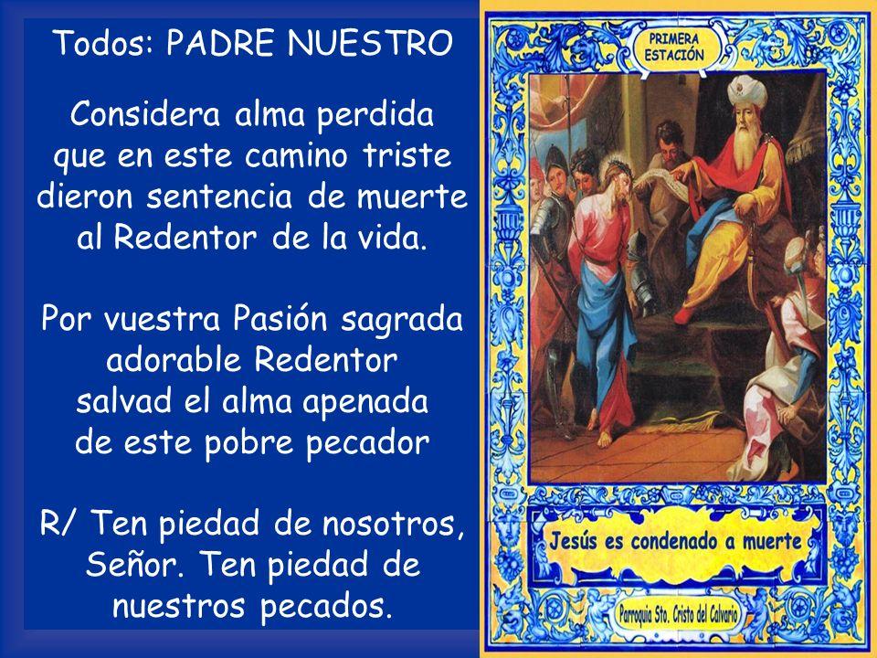 INTENCIÓN (preparada por el sacerdote) Por el Papa, los obispos, los sacerdotes, los misioneros, los monjes, las monjas, las personas consagradas, las