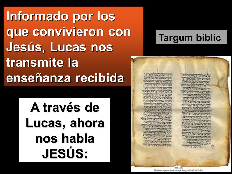 Lucas 1, 1-4; 4, 14-21 Por cuanto muchos han tratado de compilar una historia de las cosas que entre nosotros son muy ciertas, tal como nos las han tr