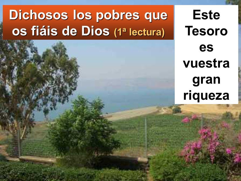 Él, levantando los ojos hacia sus discípulos, les dijo:
