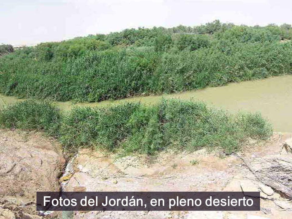 Fotos del Jordán, en pleno desierto