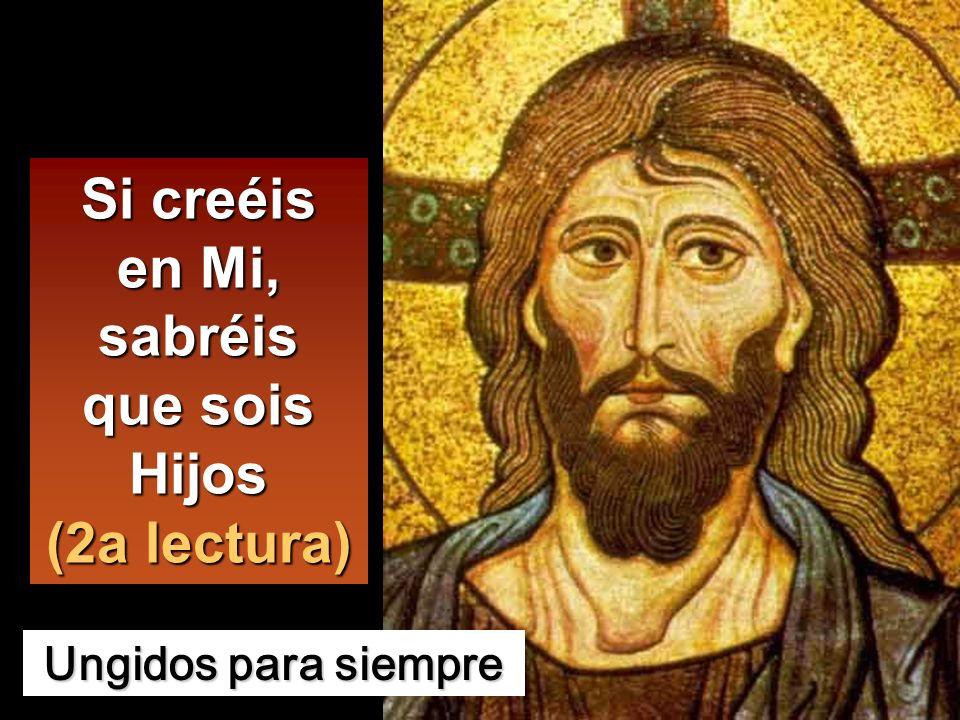 Pedro tomó la palabra y dijo: El Mesías de Dios.