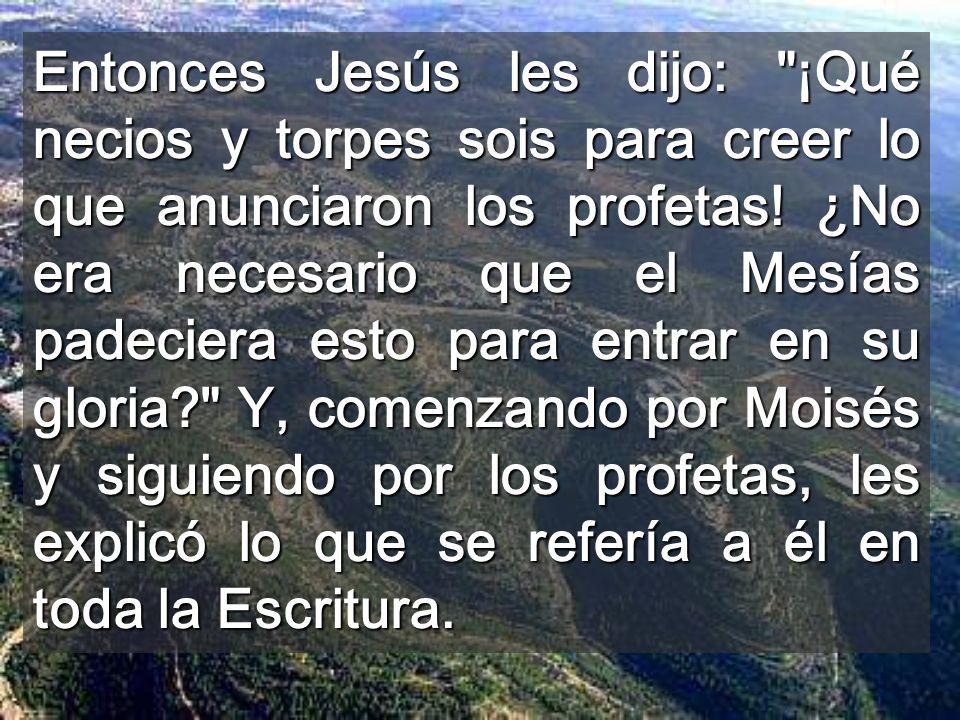 Iglesia del Emaús de los cruzados La FE va más allá de la razón No vemos a Jesús, cuando quedamos atados por nuestra manera limitada de percibir las c