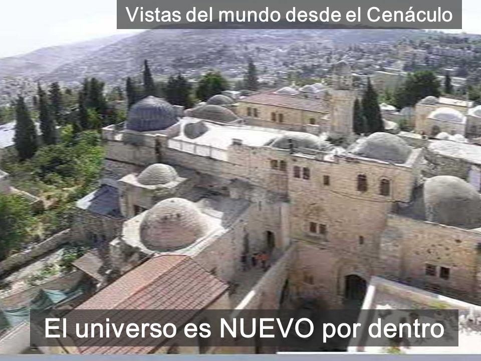 Sala alta del Cenáculo que recuerda la venida del Espíritu EL ESPÍRITU es único en cada persona