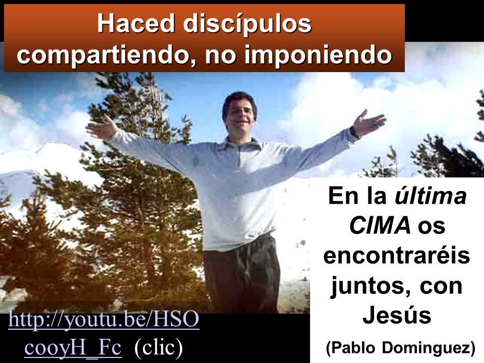 Id y haced discípulos en todos los pueblos,