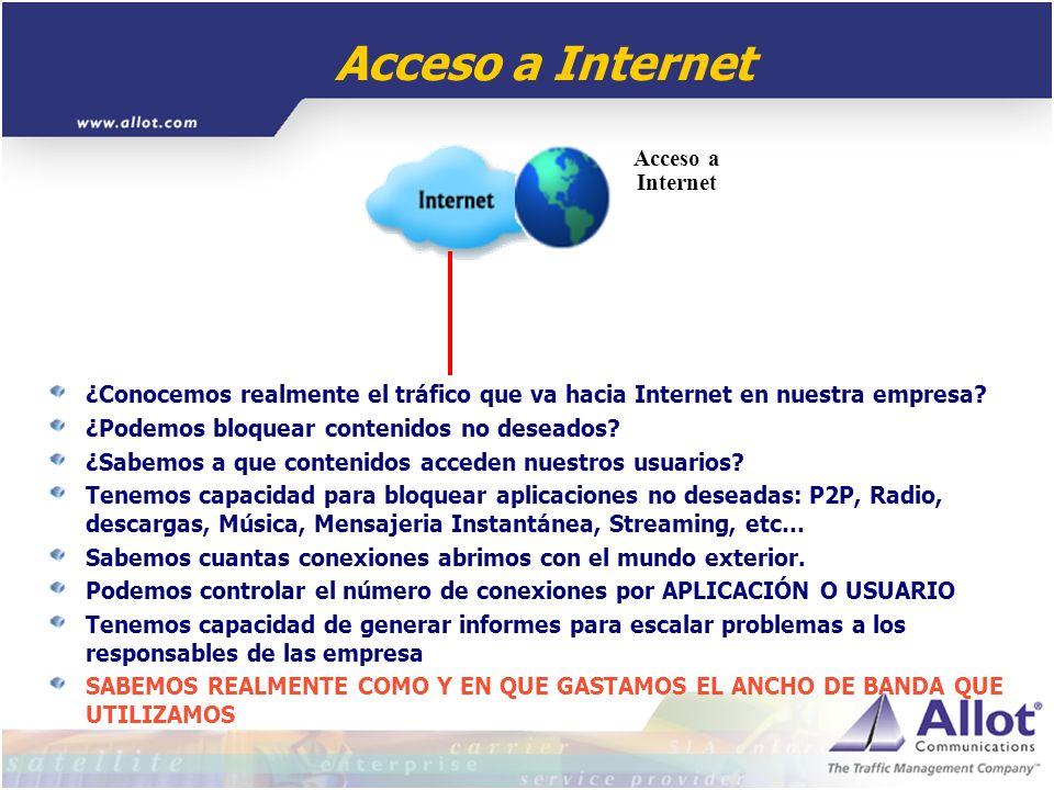 ¿Conocemos realmente el tráfico que va hacia Internet en nuestra empresa? ¿Podemos bloquear contenidos no deseados? ¿Sabemos a que contenidos acceden