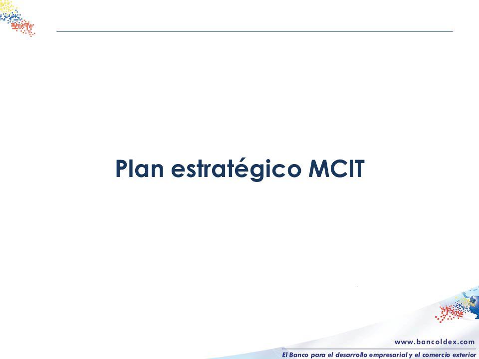 Plan estratégico MCIT
