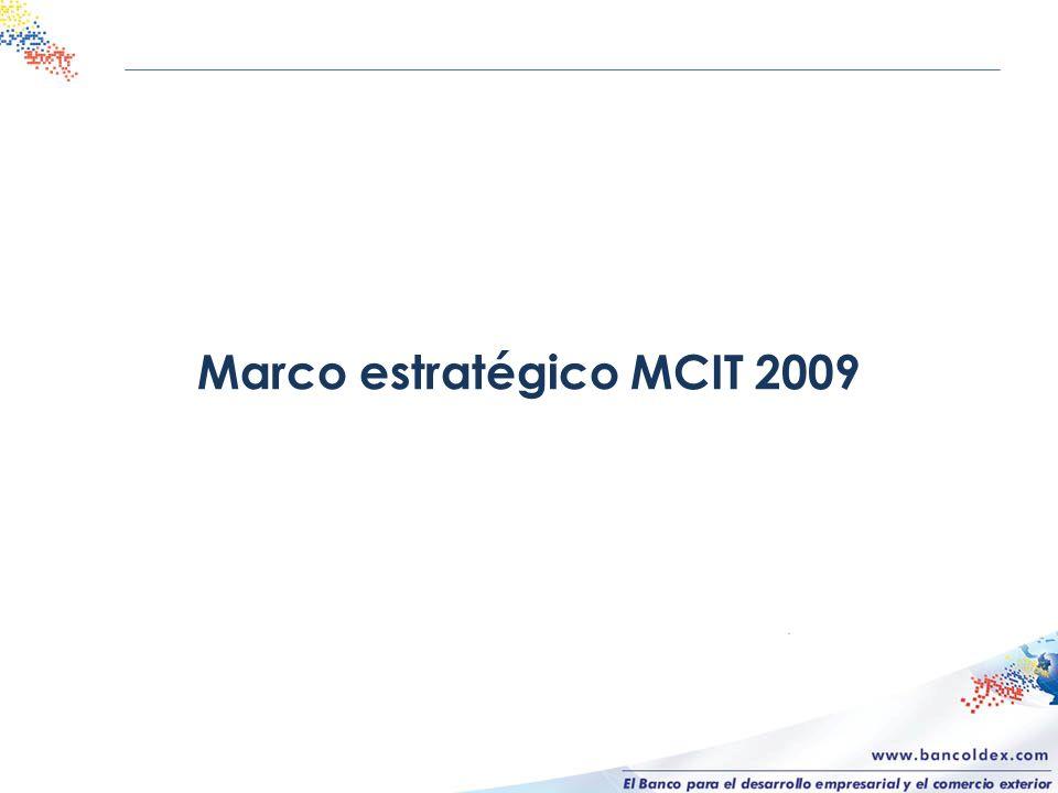 Marco estratégico MCIT 2009