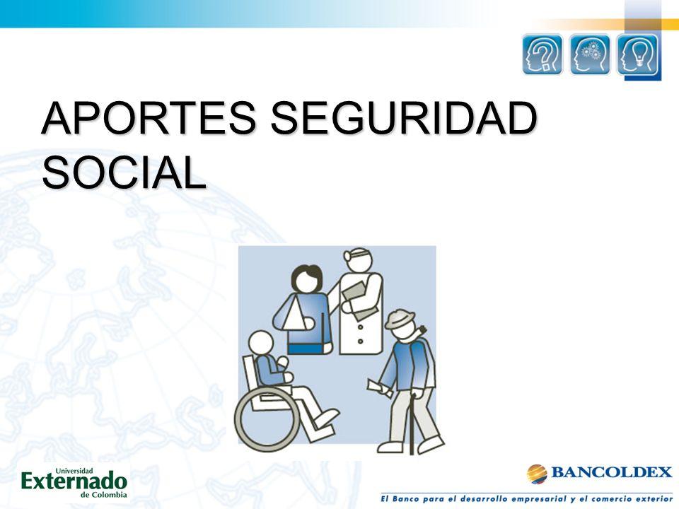 APORTES SEGURIDAD SOCIAL