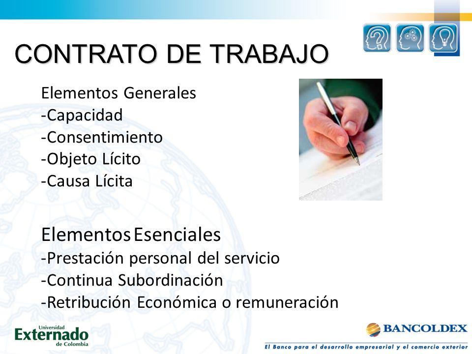 AUXILIO DE TRANSPORTE Tiene la finalidad de ayudar económicamente al trabajador para su desplazamiento al lugar de trabajo.