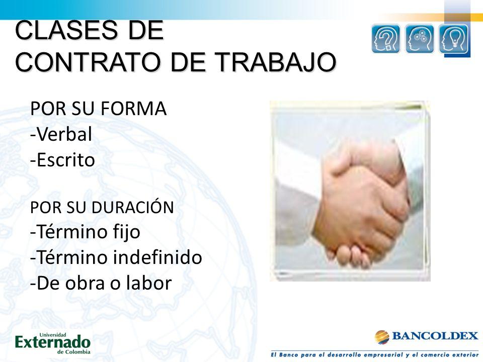 CONTRATO DE APRENDIZAJE -Es aquel por el cual un empleado se obliga a prestar un servicio a un empleador, a cambio de que éste le proporcione los medios para adquirir formación profesional metódica y completa.