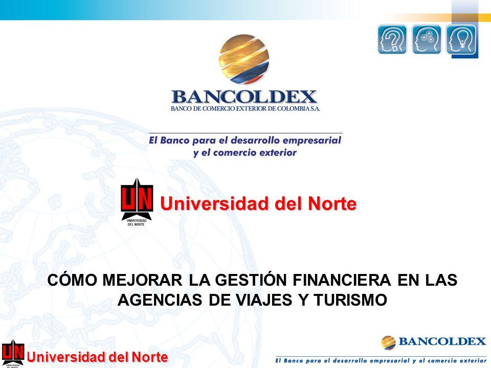 Universidad del Norte CÓMO MEJORAR LA GESTIÓN FINANCIERA EN LAS AGENCIAS DE VIAJES Y TURISMO Universidad del Norte