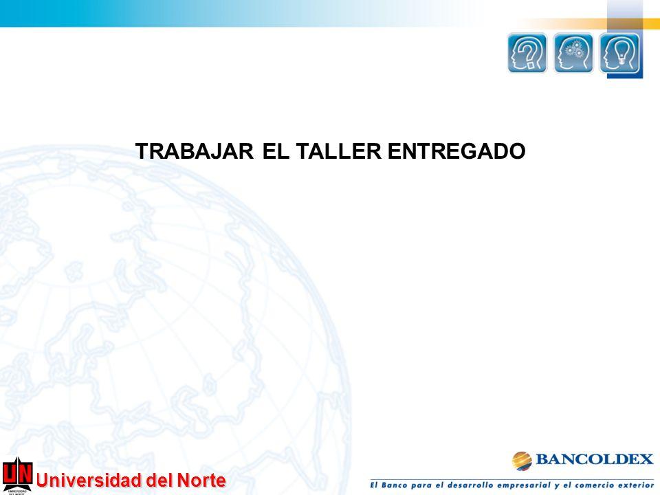 TRABAJAR EL TALLER ENTREGADO