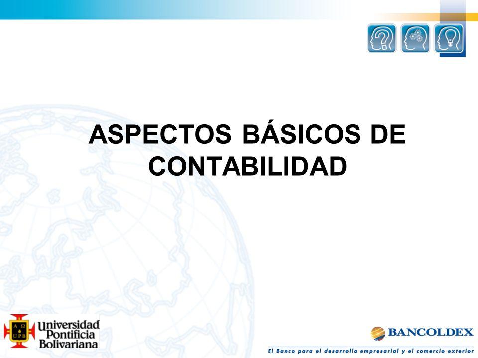 ASPECTOS BÁSICOS DE CONTABILIDAD