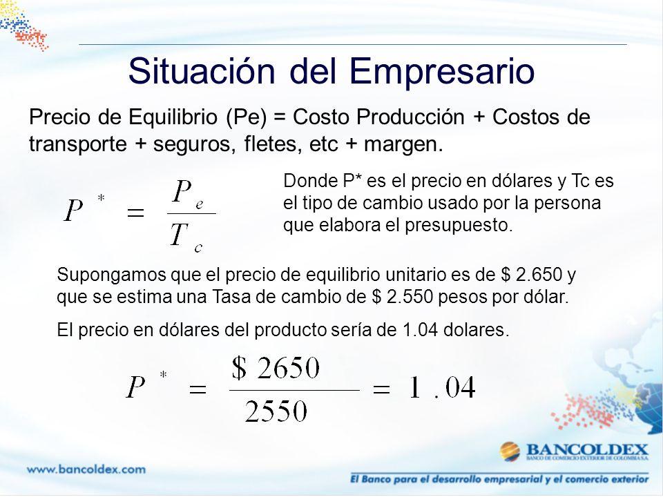 Coberturas Cambiarias FORWARD EJEMPLO Un exportador va a recibir USD 500.000 en 90 días Tasa spot: 2.540 Devaluación: 5.9% Tasa Spot * (1 + Devaluación) ^ (Plazo/365) =Precio Foward 2.540 * (1 + 5.9%)^ (90/365) = 2.576.15 El exportador asegura un precio de venta de 2.576.15 - El 4 de Junio (Vencimiento): Tasa de mercado$ 2.530 El exportador compensa $ 46.16