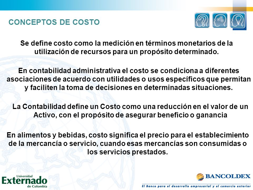 costo fijo + utilidad Tarifa = -------------------------- + costo variable volumen costos fijos + utilidad Volumen = ------------------------------- tarifa – costo variable (margen de contribución) RELACIÓN COSTO-VOLUMEN-UTILIDAD