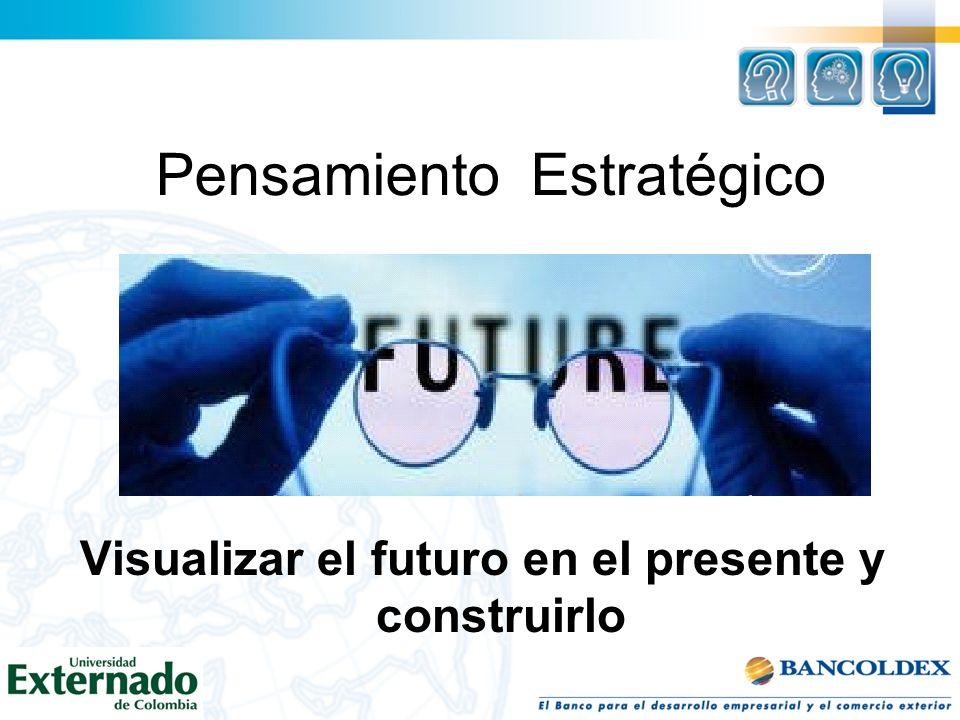 Pensamiento Estratégico Visualizar el futuro en el presente y construirlo