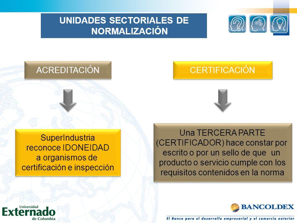 ACREDITACIÓN CERTIFICACIÓN SuperIndustria reconoce IDONEIDAD a organismos de certificación e inspección SuperIndustria reconoce IDONEIDAD a organismos