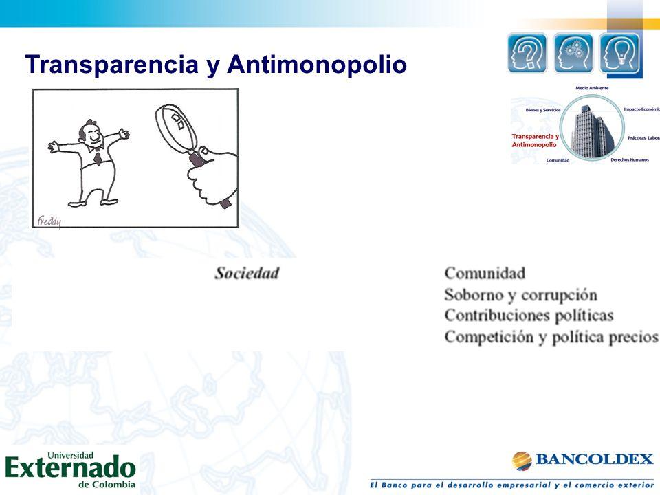 Transparencia y Antimonopolio