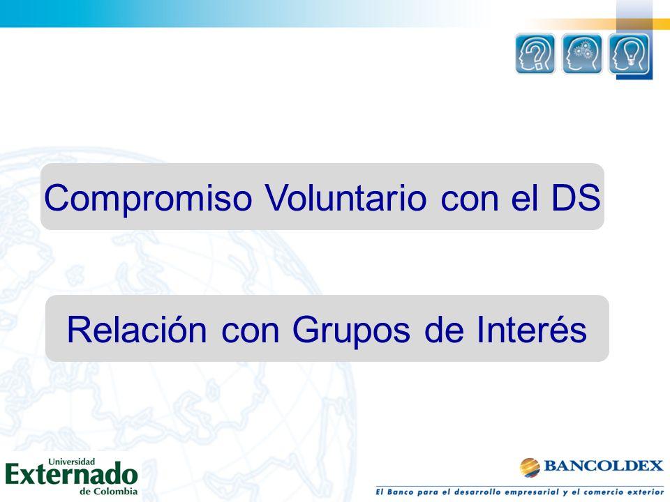 Compromiso Voluntario con el DS Relación con Grupos de Interés