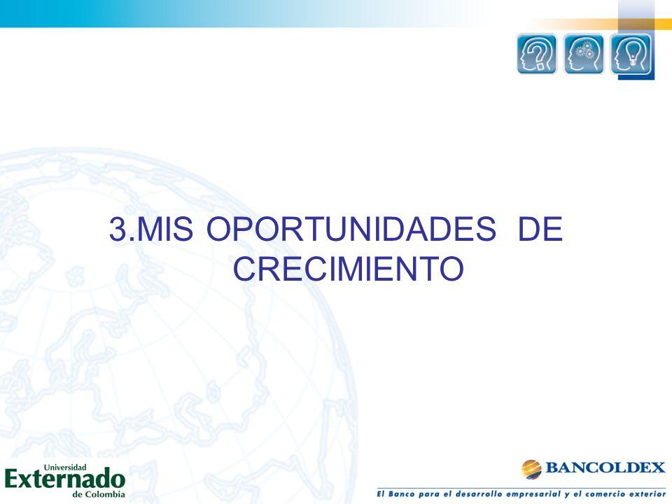 3.MIS OPORTUNIDADES DE CRECIMIENTO