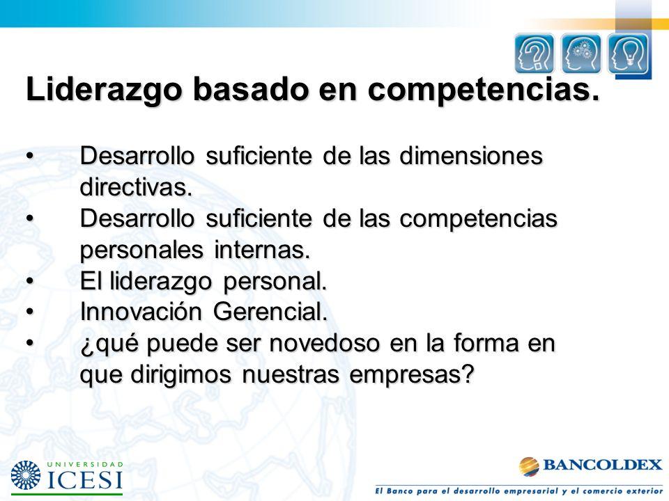 Competencias directivas ¿Qué son las competencias?.¿Qué son las competencias?. Competencias relevantes.Competencias relevantes. Parámetros que determi