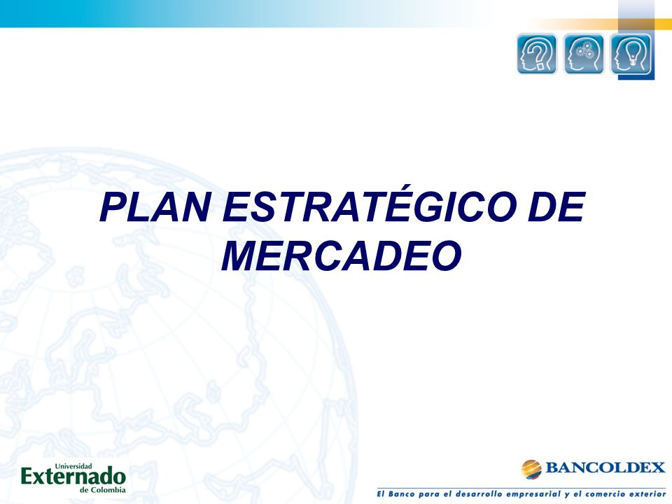 PLAN ESTRATÉGICO DE MERCADEO
