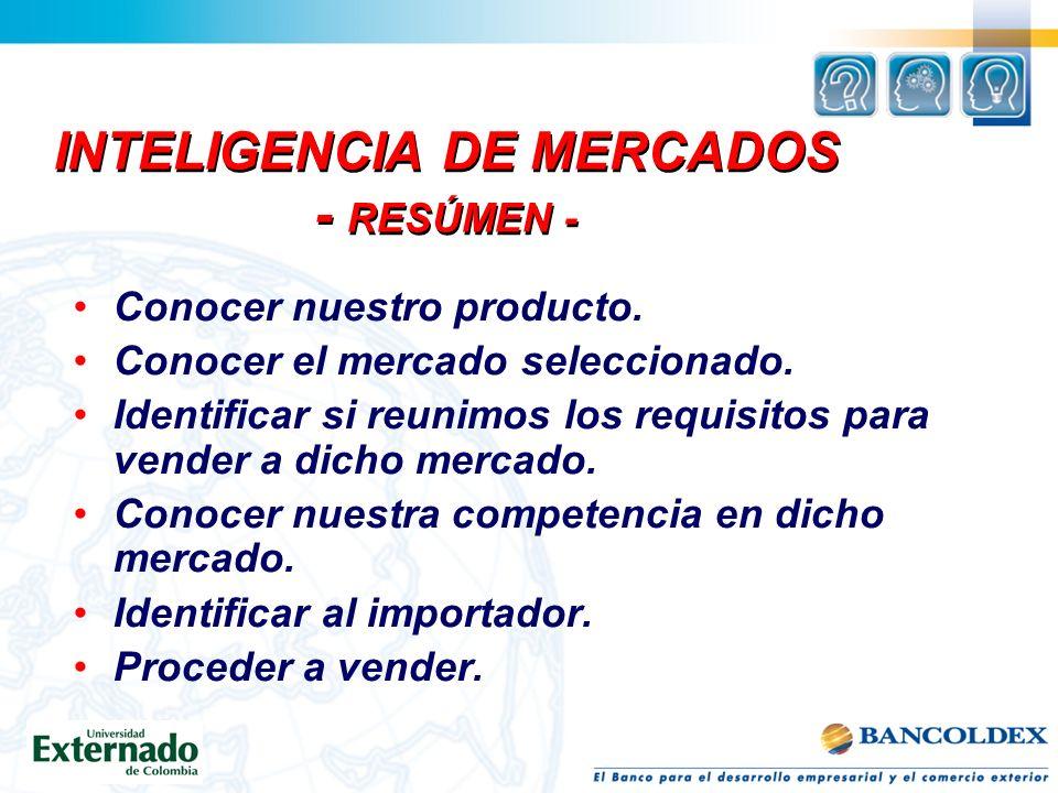 PREGUNTAS CLAVES 1.QUÉ INFORMACIÓN DEBO CONOCER ACERCA DEL MERCADO? - ESTRUCTURA DEL MERCADO 2.CÓMO OBTENGO ESA INFORMACIÓN? - INVESTIGACIÓN DE MERCAD
