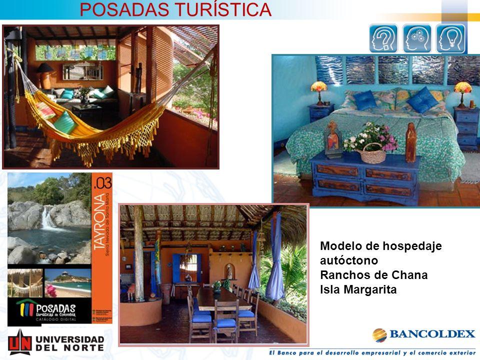 POSADAS TURÍSTICA Modelo de hospedaje autóctono Ranchos de Chana Isla Margarita
